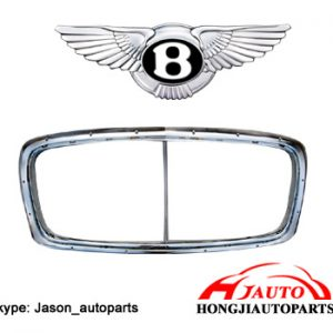 Bentley Continental GT GTC Front Grille Chrome cover