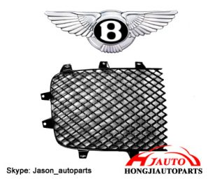 Bentley Continental GT Front Grille Black Mesh