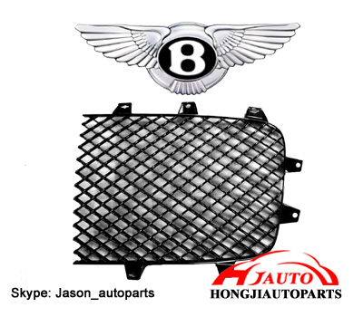 Bentley Continental GT Front Grille Black