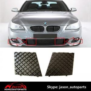 BMW E60 E61 M SPORT FRONT BUMPER LOWER MESH GRILL TRIM COVER