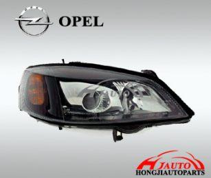 Opel Astra G Xenon Head Lamp black