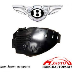 Bentley Continental GT GTC Wheel Arch Liner Splash Guards